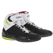 Alpinestars Faster2 Boots Black/Yellow Fluo/Red